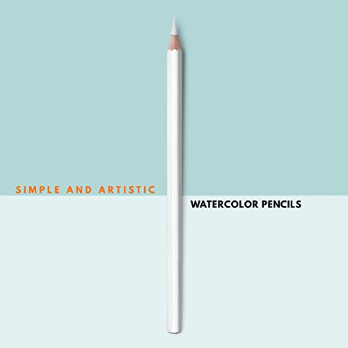 Simple And Artistic Watercolor Pencils (English Edition)