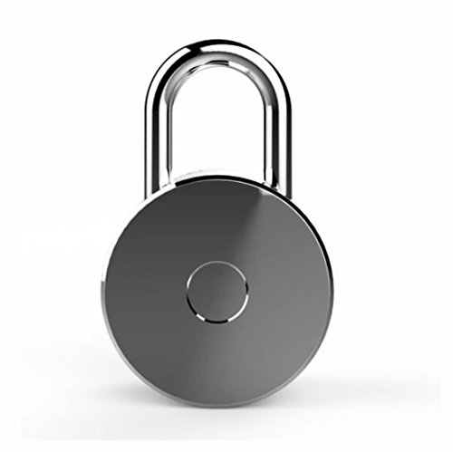 reslock (negro)–Smart Bluetooth 4.0candado. Seguro tu bicicleta,...