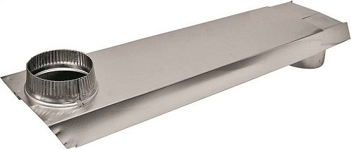 """Lambro 3005 Vent Tite Fit, Titefit 90 Degree Rectangular Dryer Duct, Extends from 18"""" to 30"""", 26 Gauge Aluminum"""