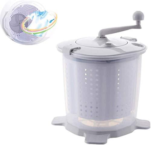 VARADOMO Manuelle Mini-Waschmaschine Tragbare Öko-Nicht-Elektrische Wäsche-Waschmaschine und Wäscheschleuder für Camping Wohnheime Wohnungen