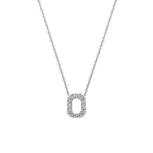 [ヴァンドーム青山] プラチナ ネックレス APVN201840DI ダイヤモンド モダンネックレス