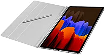 Samsung Electronics Galaxy Tab S7 Book Cover (Mystic Silver)