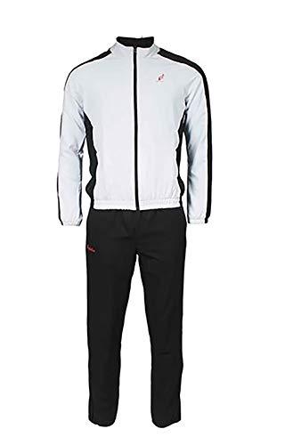 Australian L'Alpina Sport Trainingsanzug für Herren (weiß/schwarz) - 56