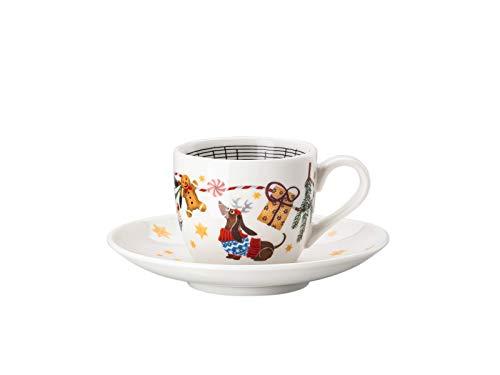 Hutschenreuther Sammelserie 2020 Morgen kommt der Weihnachtsmann Espressotasse 2tlg.