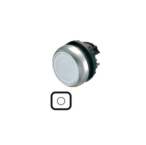 Eaton 216944 Leuchtdrucktaste, Flach, weiß, Rastend