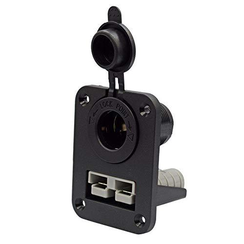 Cobeky Anderson Plug C-Igarette - Cargador de enchufe empotrable para caravana, barco, camión