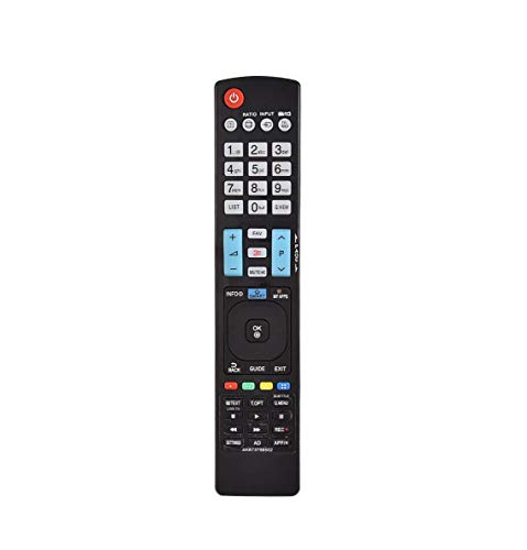 Pehtini New AKB73756502 Replace Remote Control fit for LG LED LCD 3D TV 60LA620S 60LA8609 60PM970S 65LM620S 84LM960V