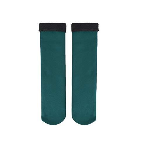 XINTAOSM Calcetines para Calientes de Invierno Calcetines de Las Mujeres Espesar de la Lana térmica Cashmere Sock Sock EXCLATORIO Botas de Terciopelo de Terciopelo Suelo para Las Mujeres 1 / 2Pairs