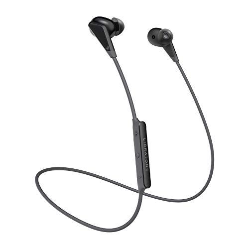 Libratone TRACK Sport Wireless In-Ear Kopfhörer (Bluetooth 5.0, 16 Std. Akku, 16 g, schweiß- und spritzwasserfest IPX4, magnetische Ohrstöpsel) stormy black