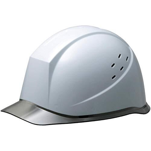 ミドリ安全 ヘルメット 作業用 PC製 クリアバイザー 通気孔付 ウインドフロー SC12PCLV RA3 UP ホワイト/スモーク