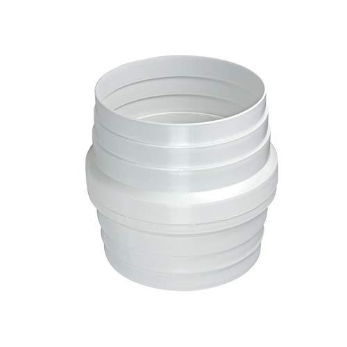 Europart 10020032 UNIVERSAL Kondenswasserstop Kondenswasser Sammler Rückflussverhinderer 150mm Rund Anschluss Abluft Rohr Abluftschlauch für Dunstabzugshaube Klimagerät Trockner