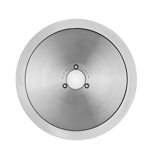 Klarstein Carpaccio Ersatzklinge für Schneidemaschine Fleischschneider Meat Slicer, Ersatzteil / Zubehör, Messer: 250 mm (Ø), Edelstahl, metallic