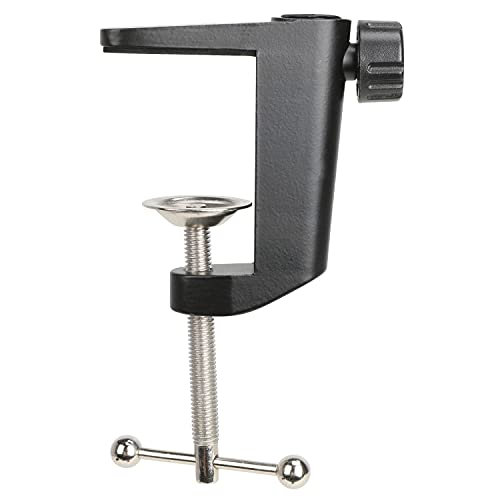 Abrazadera para Microfono - Abrazadera de Montaje en Mesa para Soporte de Micrófono con Tornillo Ajustable, el Espacio Máximo es de 55 mm / 2,16 Pulgadas por YOUSHARES