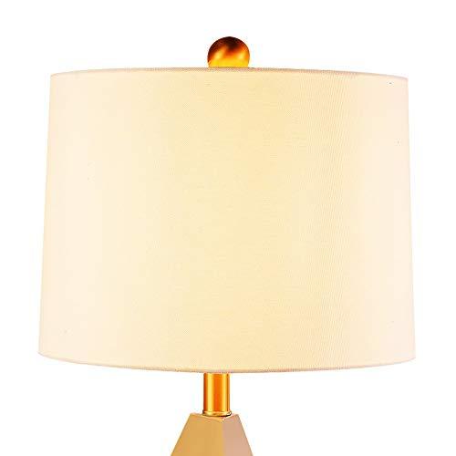 YZYZYZ Lámpara de escritorio de lujo simple para sala de estar de metal dormitorio estudio Poste personalidad moderna creativa lámpara de escritorio 34 x 70 cm