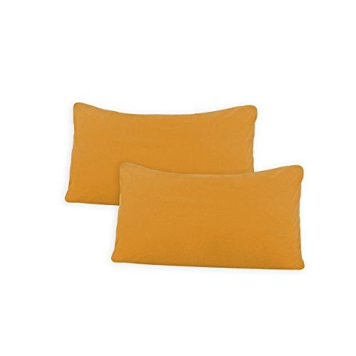 SHC Textilien Conjunto de Dos Fundas de Almohada
