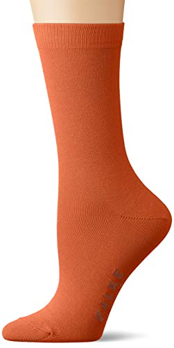 FALKE Damen Family W SO Socken, Blickdicht, orange (coppercoin 8937), 39-42 (UK 5.5-8 Ι US 8-10.5)