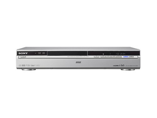 Sony HDD DVD Recorder HDMI Silver Registratore DVD Argento