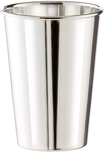 EDZARD Becher Vase Konus, schwerversilbert, Höhe 11 cm