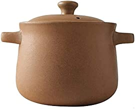 Praktisch Braadpan schotels diepe aarden pot stockpot, keramische braadpan met deksel klei pot uien soep crocks casserole ...