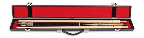 Billardkoffer Standard schwarz 1/2. Koffer_132502