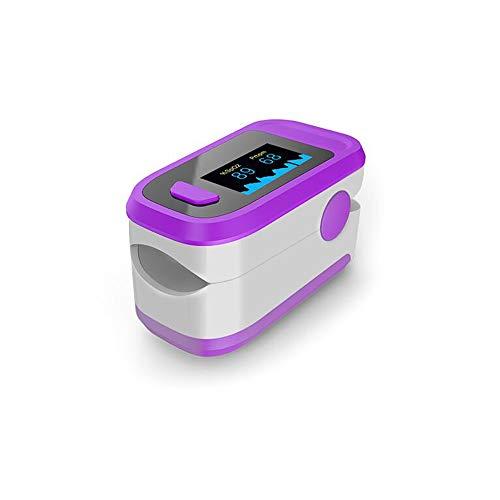 Moobody Pulsossimetro Pulsossimetro Digitale Display OLED Sensore di Ossigeno nel Sangue Saturazione Spo2 Monitor Misuratore di Misura per Infermiere Amante dello Sport Domestico