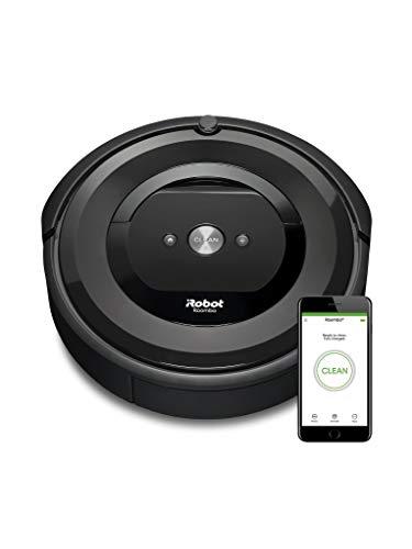iRobot Roomba e5 aspirapolvere robot Senza sacchetto Antracite 0,6 L