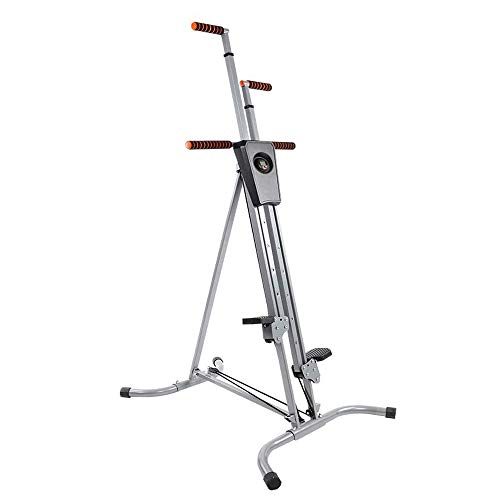 Vertical Stepper Climbing Machine Step Fitness Climber Cardio Workout Equipment for Whole Body Resistance Training Machine Fitness Equipment for Home&Gym(Deliver Within 3-7Days)