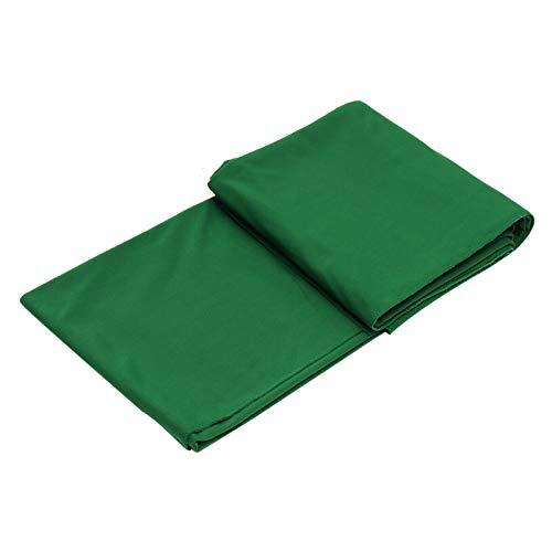 ZQEDY Billard-Tuch, Billardtisch, acht Bälle, Sport, weiche Faserkissen, für den Innenbereich, Snooker-Zubehör, schützendes Spielen (grün)