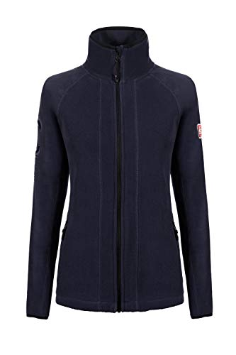 Cavallo Damen Fleecejacke LADINA, darkblue, 40