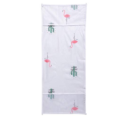 Miner étanche et étanche à l'huile Four Housse de Rangement Sac Accessoires de Cuisine Housse Anti-poussière Couverture Micro-Ondes décoration de la Maison Fournitures, Flamingo, 83.5x34 m