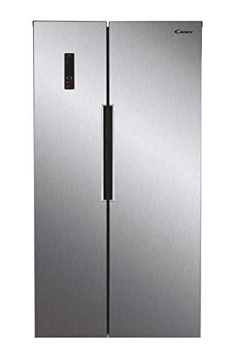 CANDY CHSBSV5172XKN Freestanding American Fridge Freezer, Total No Frost, 472L Total Capacity,...