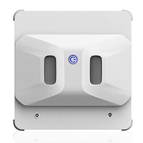 JFF Aspiradora Robot De Limpieza De Ventanas con Control Remoto, Aspiradora Robótica para Ventanas, Vidrio, Azulejos, Limpieza De Baños