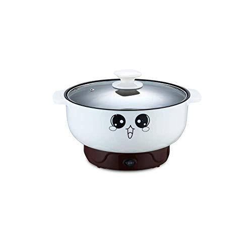 Especial/Simple Multifunción Sartén Eléctrica De Acero Inoxidable Hot Pot Tallarines Arrocera Cocina De Huevo Al Vapor Olla Calefacción Pan Cocinar Arroz