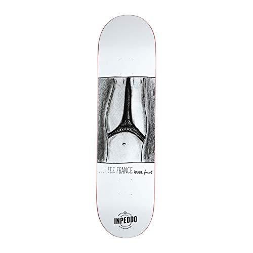 Inpeddo x Forvert Skateboard Deck I See France 8.125