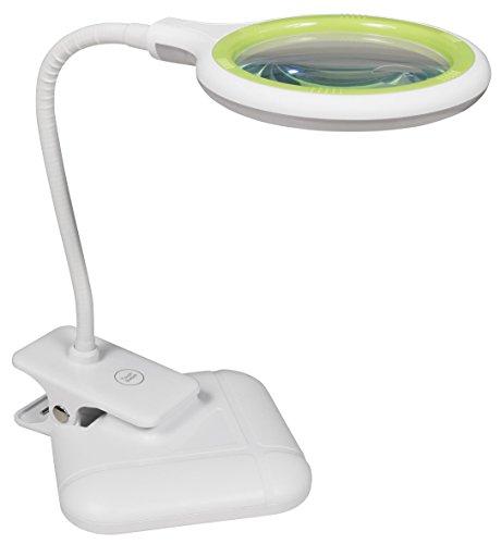 McShine - Lupenleuchte | LL-52 | 36 LEDs, Tisch- und Klemmleuchte, dimmbar