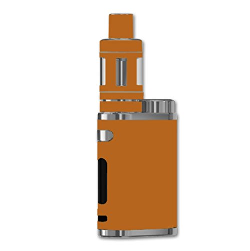 Decal Sticker Skin WRAP Light Brown Solid Color Background for Eleaf iStick Pico 75W TC