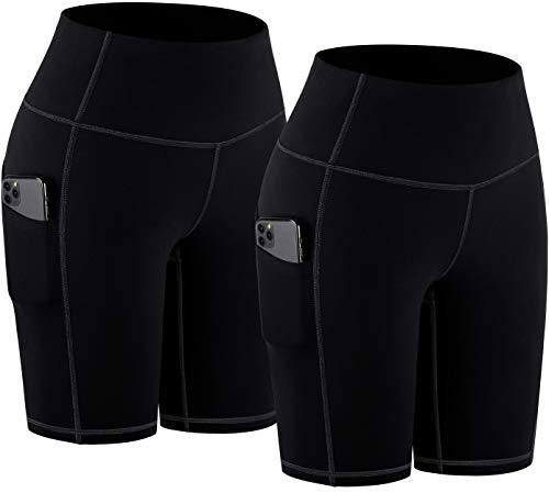 TOREEL Biker Shorts for Women with Pockets 8