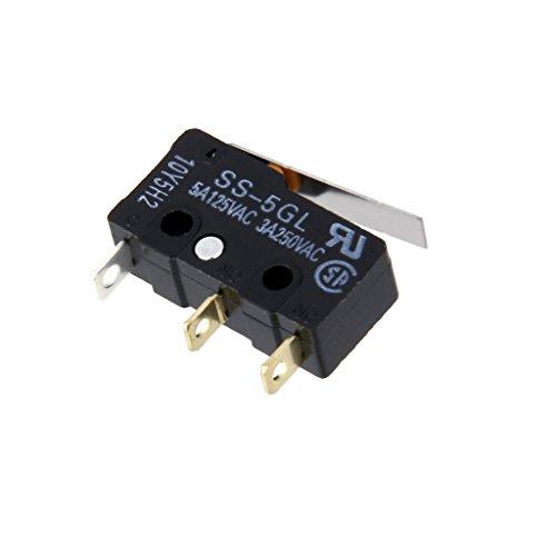 Ss-5GL Rupture Brusque Fin De Course 3 Broches Microrupteur Butée 3d Imprimante Cnc