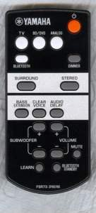 Yamaha FSR73 Remote Control Part # ZP807600