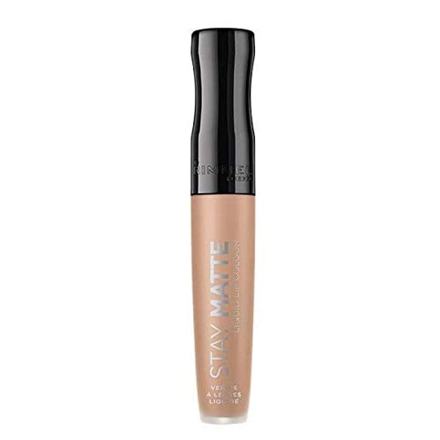 セールランチ特異な[Rimmel ] リンメルステイマット液体リップ口紅生の抱擁 - Rimmel Stay Matte Liquid Lip Lipstick Raw Embrace [並行輸入品]