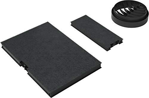 Bosch DWZ0AK0T0 Accessoires voor afzuigkappen/schoorsteenopzetstuk/filter, zwart, carbon, 1 kg, 350 mm, 460 mm