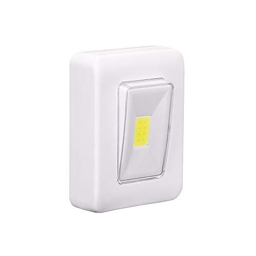 Beonzale LED luce notturna COB LED Cordless Switch lampada da parete a batteria sotto la cabina
