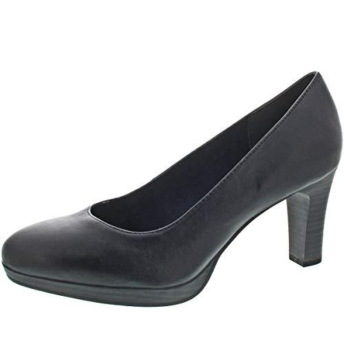 Tamaris - Zapatos de Vestir para Mujer, Color Plateado, Talla 41 EU