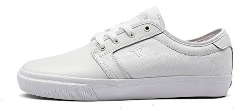 Fallen Forte. Zapatilla de Skate, Hombre. (45 EU, White)