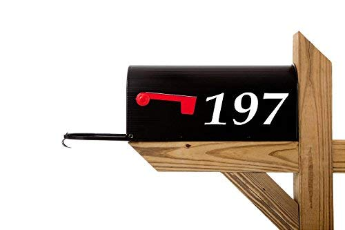 2-3' Custom Reflective Mailbox Numbers Decals