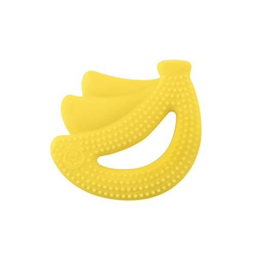 Green Sprouts - Jouet-dentition en silicone - Jaune Banane