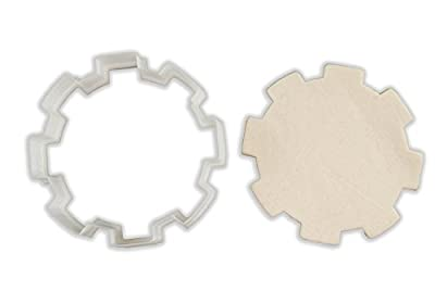 Gear Cookie Cutter - ALL SIZES SET