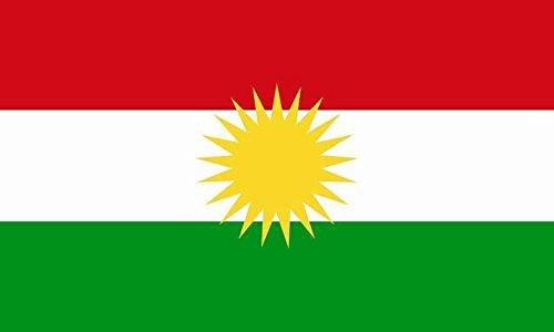 U24 Fahne Flagge Kurdistan 60 x 90 cm