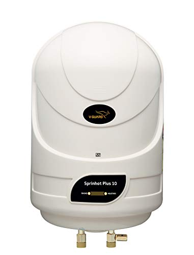 V-Guard Sprinhot 10 Litre Water Heater (Ivory)