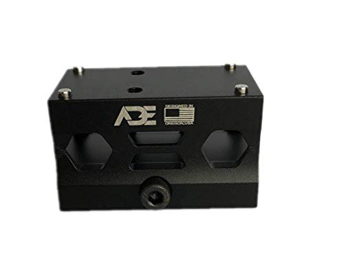 Ade Advanced Optics Absolute Cowitness Co-Witness Riser HIGH Mount - Compatible with Trijicon RMR/SRO, Swampox Kingslayer/Liberty/Justice Red Dot Sight